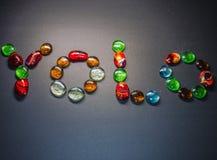 Veelvoudig kleurenglas stock foto's