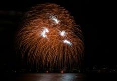Veelvoudig Vuurwerk stock fotografie