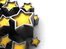 Veelvoudige Blauwe sterren Royalty-vrije Stock Afbeelding