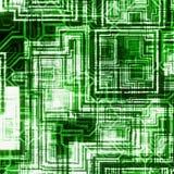 Veelvoudige futuristische abstracte achtergronden Stock Afbeelding