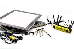 Veelvoudige hulpmiddelenuitrusting stock fotografie