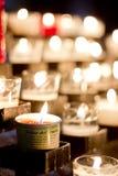 Veelvoudige kaarsen Stock Foto's