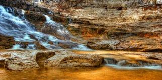Draperende Watervallen stock afbeelding