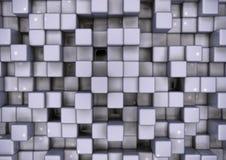 Veelvoudige kubus bedrijfsachtergrond voor presentatie Royalty-vrije Stock Foto's
