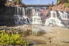 Veelvoudige watervallen Stock Afbeelding
