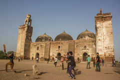 Veenmolkoorts @ Khan Mosque royalty-vrije stock foto's