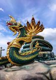 Veerachote de Wat, Chachoengsao, Thaïlande Photos libres de droits