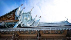 Veerachote de Wat, Chachoengsao, Thaïlande photos stock