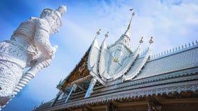 Veerachote de Wat, Chachoengsao, Thaïlande Images stock