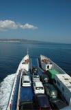 Veerboot aan Carloforte (Sardinige - Italië) stock fotografie