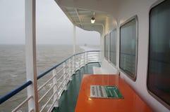 Veerboot aan het terschelling Royalty-vrije Stock Afbeeldingen