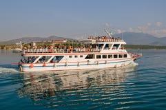 Veerboot aan Skiathos Royalty-vrije Stock Afbeelding
