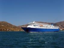 Veerboot - Andros, Griekenland Royalty-vrije Stock Afbeelding