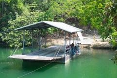 Veerboot in Belize royalty-vrije stock foto's