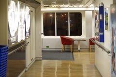 Veerboot Calais Dover Royalty-vrije Stock Afbeeldingen