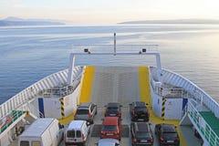 Veerboot Cres Royalty-vrije Stock Fotografie