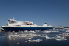 Veerboot in het Noorden Sydney Nova Scotia Royalty-vrije Stock Foto's
