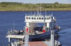 Veerboot kruising stock fotografie