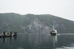 Veerboot in Noorwegen Royalty-vrije Stock Afbeeldingen