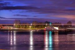 Veerboot op de Rijn Royalty-vrije Stock Afbeelding