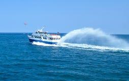 Veerboot op Meer Huron Royalty-vrije Stock Foto's