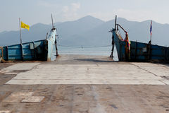 Veerbootvervoer Royalty-vrije Stock Foto