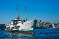 Veerboten van Istanboel Royalty-vrije Stock Foto's