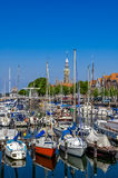 Veere harbour in the Netherlands Royalty Free Stock Photo