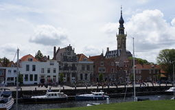 Veere, Pays-Bas Images stock