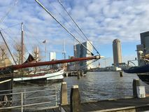 Veerhaven,鹿特丹 免版税库存图片