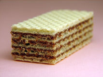 Vefle biscuit. Macro Royalty Free Stock Photos