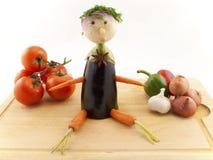 veg выбора мальчика Стоковые Изображения RF