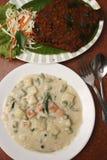 Veg-Eintopfgericht kommt aus Kerala Stockfotografie