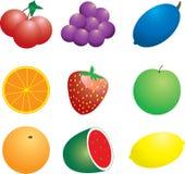 veg för frukt n Royaltyfria Bilder