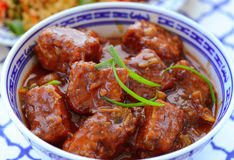 Veg Manchurian. Indian veg Manchurian, indo chinese Manchurian snack prepared from Chicken,cabbage,meat served dry or in gravy along with fried rice or noodles Royalty Free Stock Photography