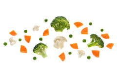 Veg from space Royalty Free Stock Photo