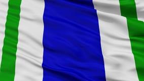 Vega Alta City Flag, Porto Rico, opinião do close up ilustração royalty free