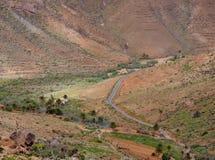 Vega de Rio Palmas on Fuerteventura Royalty Free Stock Images