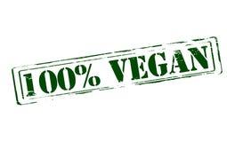 Vegan 100 процентов Стоковая Фотография