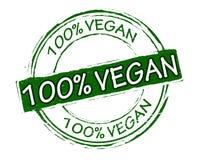 Vegan 100 процентов Стоковое Изображение