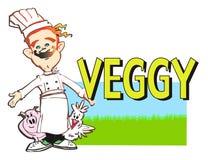 vegan серии работы кашевара Стоковая Фотография RF