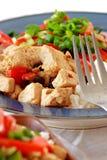 vegan тарелки Стоковые Изображения RF