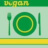 vegan vektor illustrationer