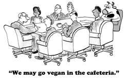 Vegan allant Photographie stock libre de droits