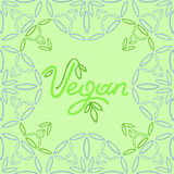 Vegan background Stock Photos