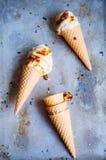 Vegan banana ice-cream Royalty Free Stock Photo