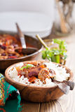 Vegan Bean Chili Stock Photos