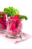 Vegan beetroot salad Royalty Free Stock Photo