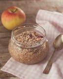 Vegan buckwheat porridge Royalty Free Stock Photo