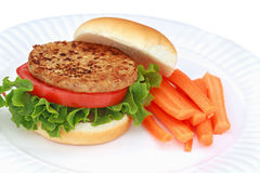 Vegan Burger Royalty Free Stock Image